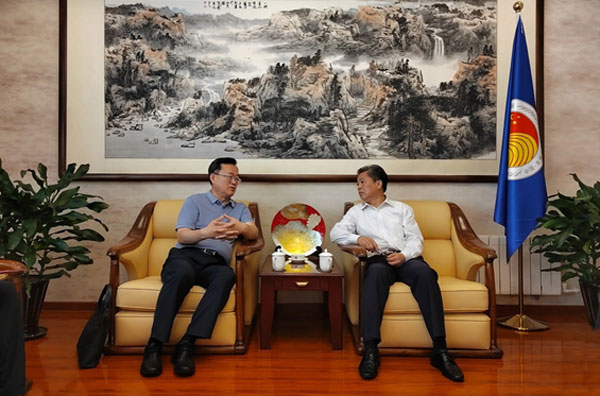 ACC Secretary-General Chen Dehai Met with Director of Dongying Foreign Affairs Office